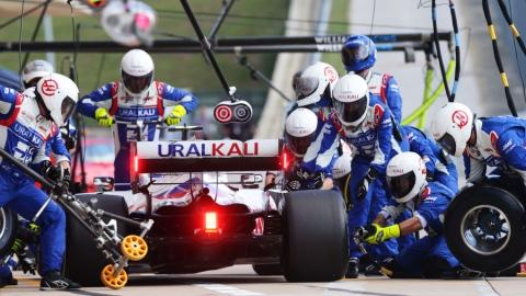 L'écurie Haas n'a pas connu plus de succès