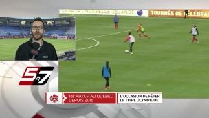 Soccer : une occasion de célébrer l'or au Stade Saputo