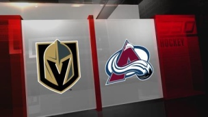 Golden Knights 3 - Avalanche 1