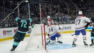 Canadiens 1 - Kraken 5