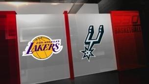Lakers 125 - Spurs 121 (Prol.)