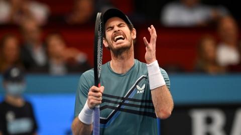 Andy Murray éliminé au 2e tour à Vienne
