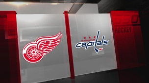 Red Wings 3 - Capitals 2 (Prolongation)