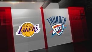 Lakers 115 - Thunder 123