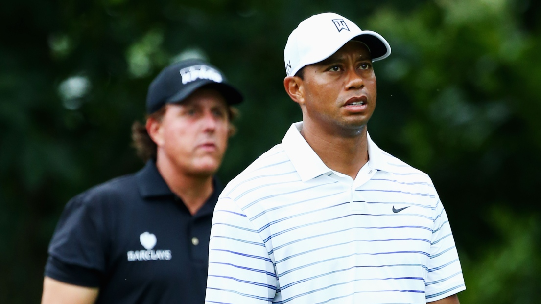 Tiger Woods et Phil Mickelson