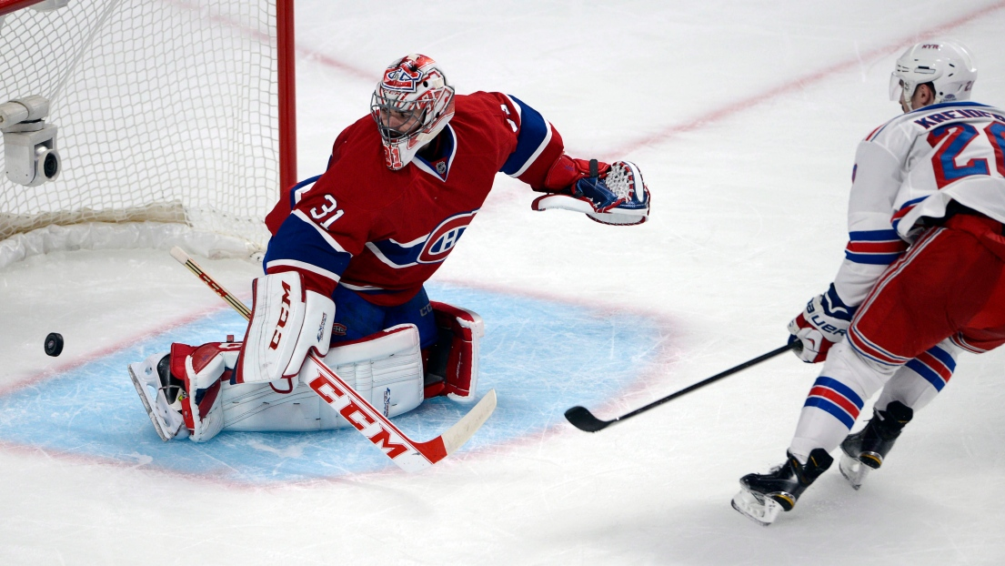 Carey Price et Chris Kreider