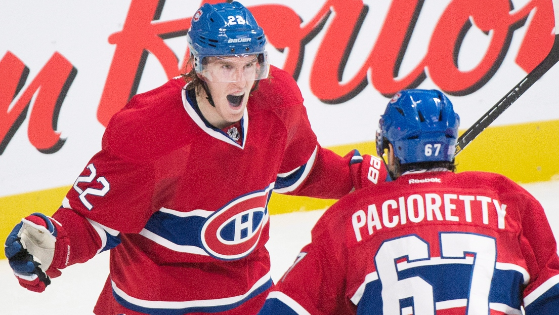 Dale Weise et Max Pacioretty