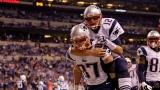 Tom Brady et Rob Gronkowski