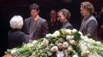Max Pacioretty, David Desharnais, Pierre-Alexandre Parenteau et Élise Béliveau