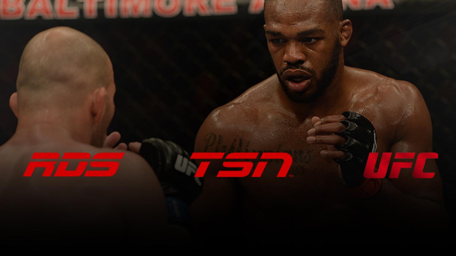 Le UFC à RDS et TSN