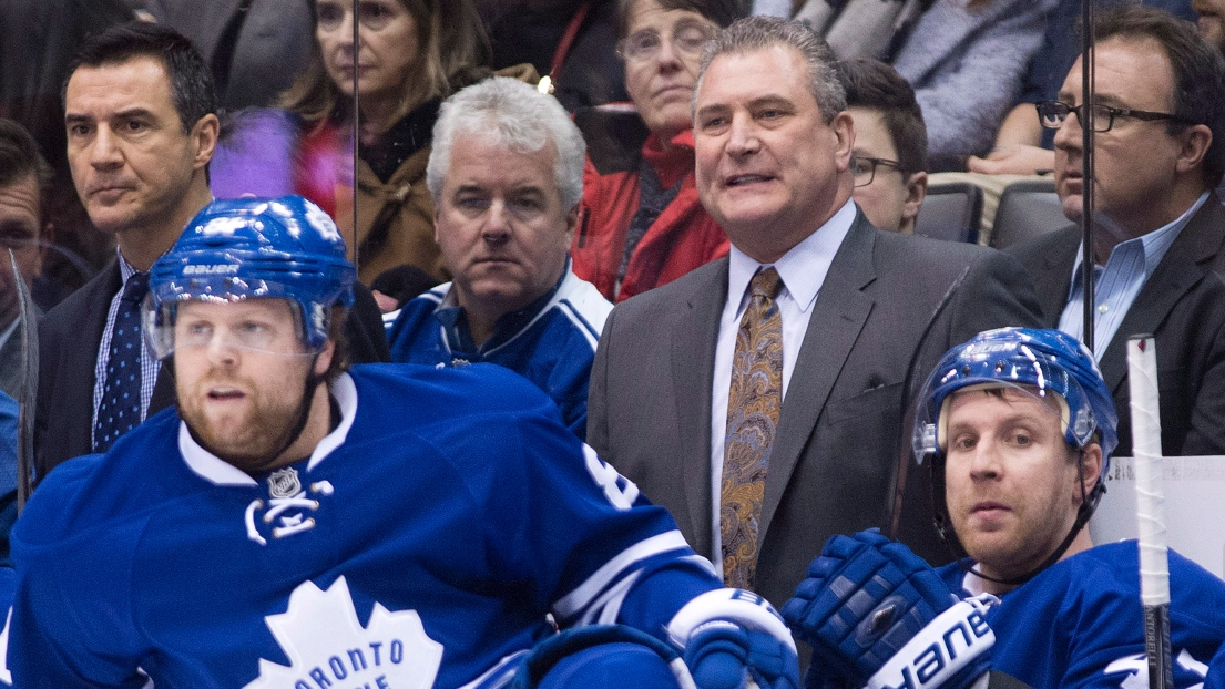Phil Kessel et Peter Horachek