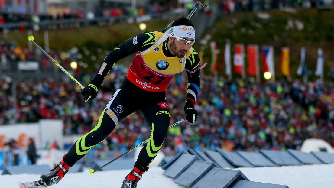 Oberhof-Mass start (M): Fourcade battu au sprint