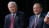 Gary Bettman et Donald Fehr