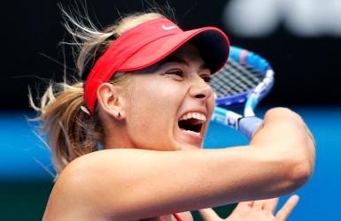 JO : Sharapova sélectionnée par la Russie