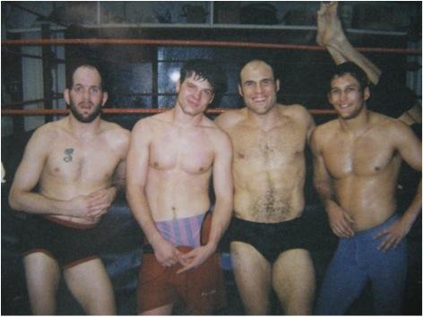 Matt Lindland, Chris Leben, Randy Couture et Dan Henderson