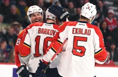 Avec Barkov et Huberdeau, les Panthers brillent à nouveau