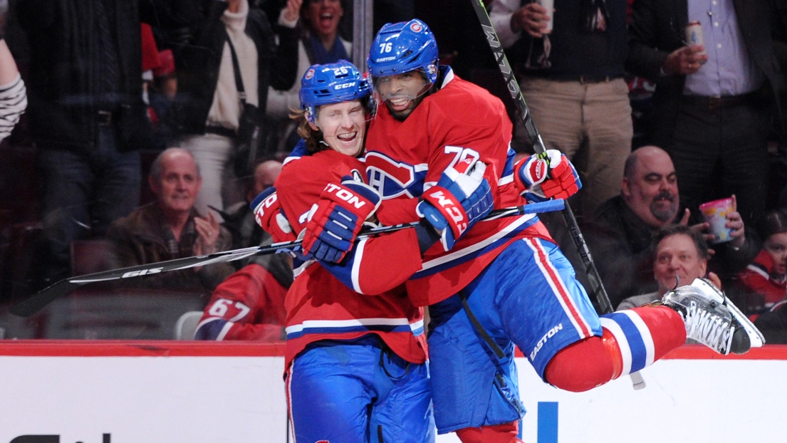 Jeff Petry et P.K. Subban