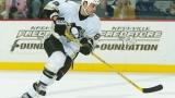 Rico Fata avec l'uniforme de Penguins de Pittsburgh!