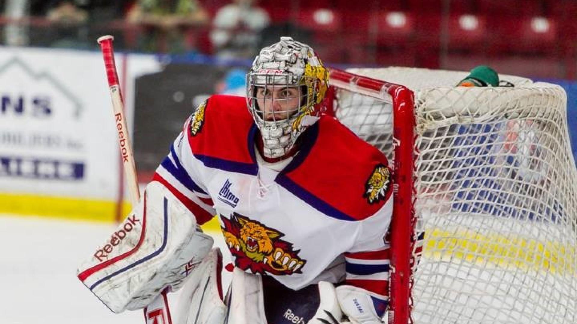 Alex Dubeau avec les Wildcats de Moncton!