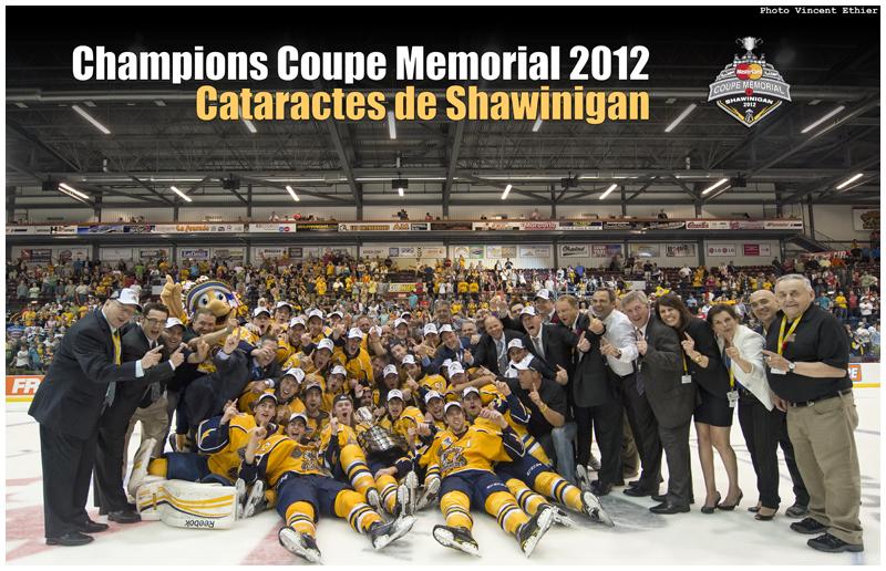 Les Cataractes de Shawinigan, l'édition championne de la Coupe Memorial de 2012!