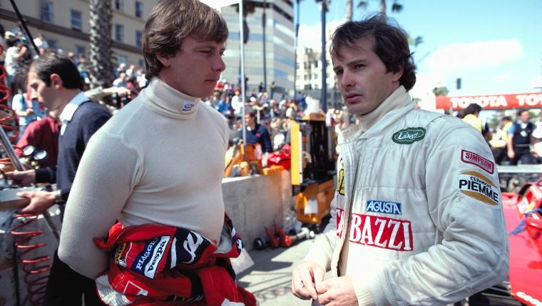 Didier Pironi et Gilles Villeneuve