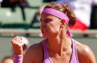 Lucie Safarova montre la sortie à Gavrilova