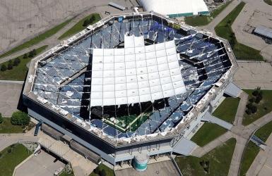 Le Silverdome sera finalement démoli