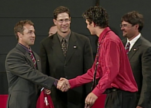 Trevor Timmins, Trent McCleary, Carey Price et Foster Gillett