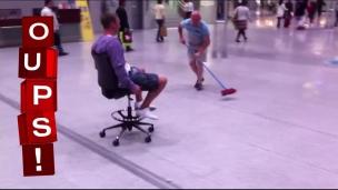 Oups! Curling entre deux vols