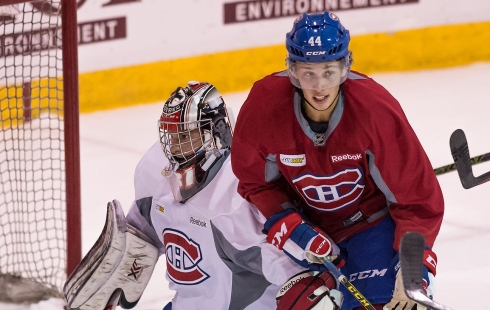 Lukas Vejdemo et Zachary Fucale