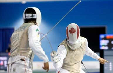 Le Canada s'incline au premier combat