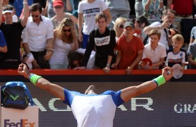 Nadal triomphe � son retour