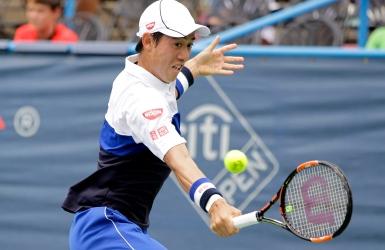 Nishikori dans le carr� d'as