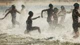 Des nageuses à Rio de Janeiro