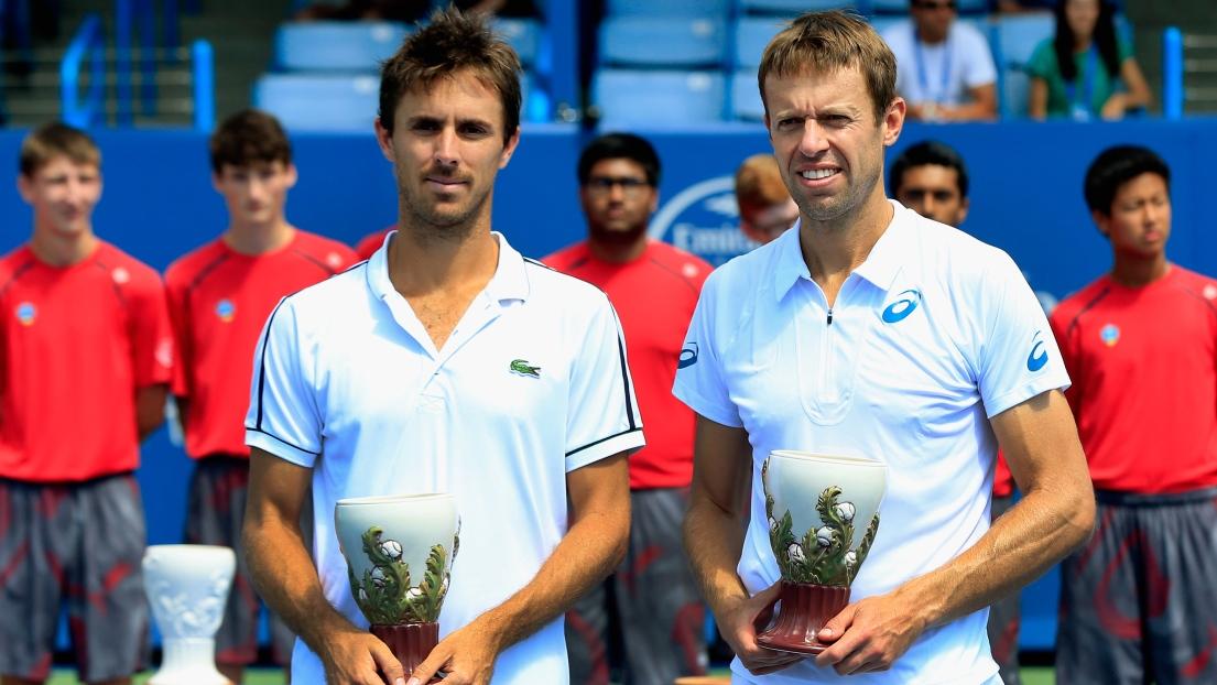 Edouard Roger-Vasselin et Daniel Nestor