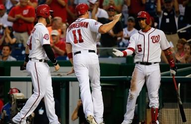 Les Braves rossés à Washington