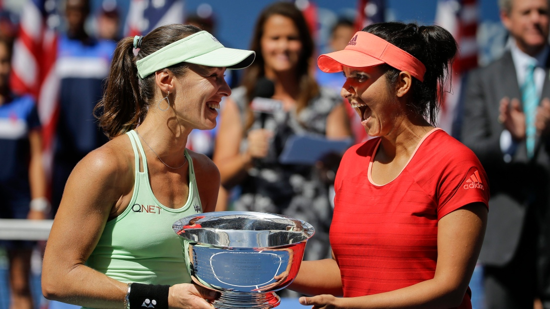 Martina Hingis et Sania Mirza