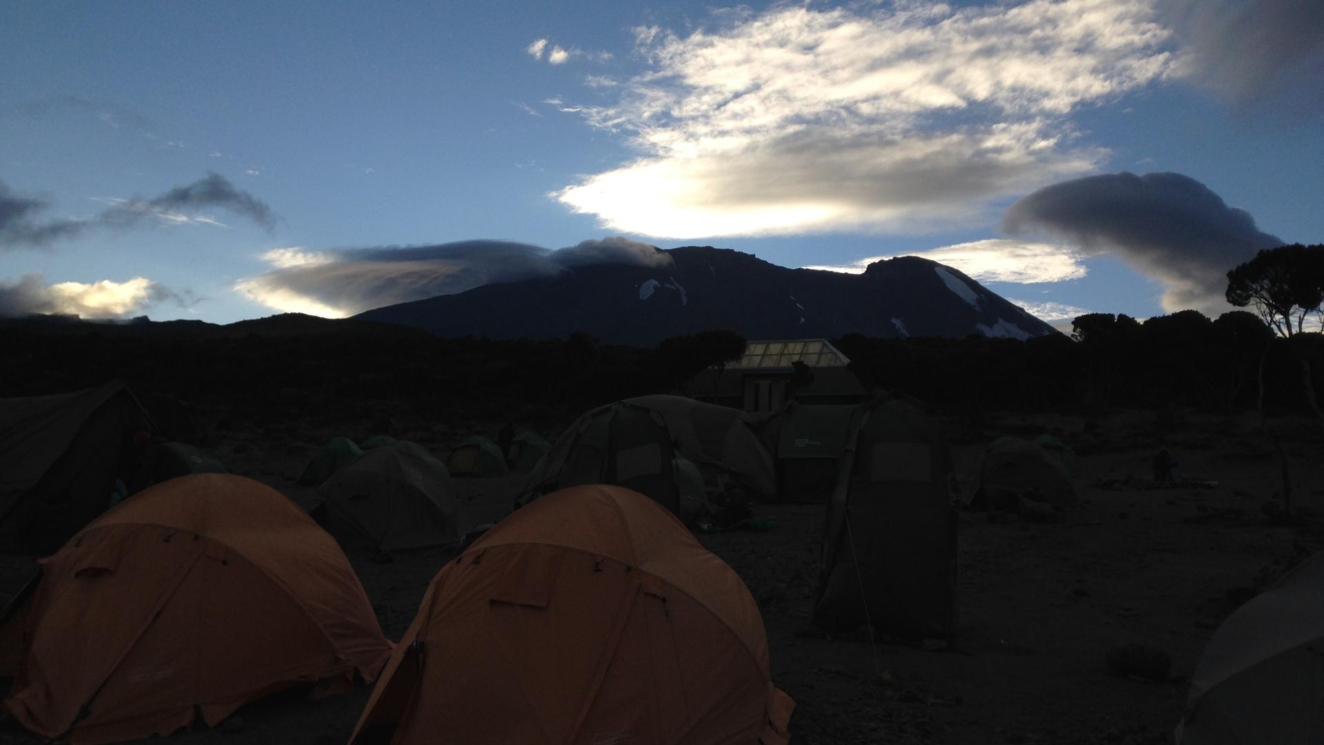 Le camp Shira