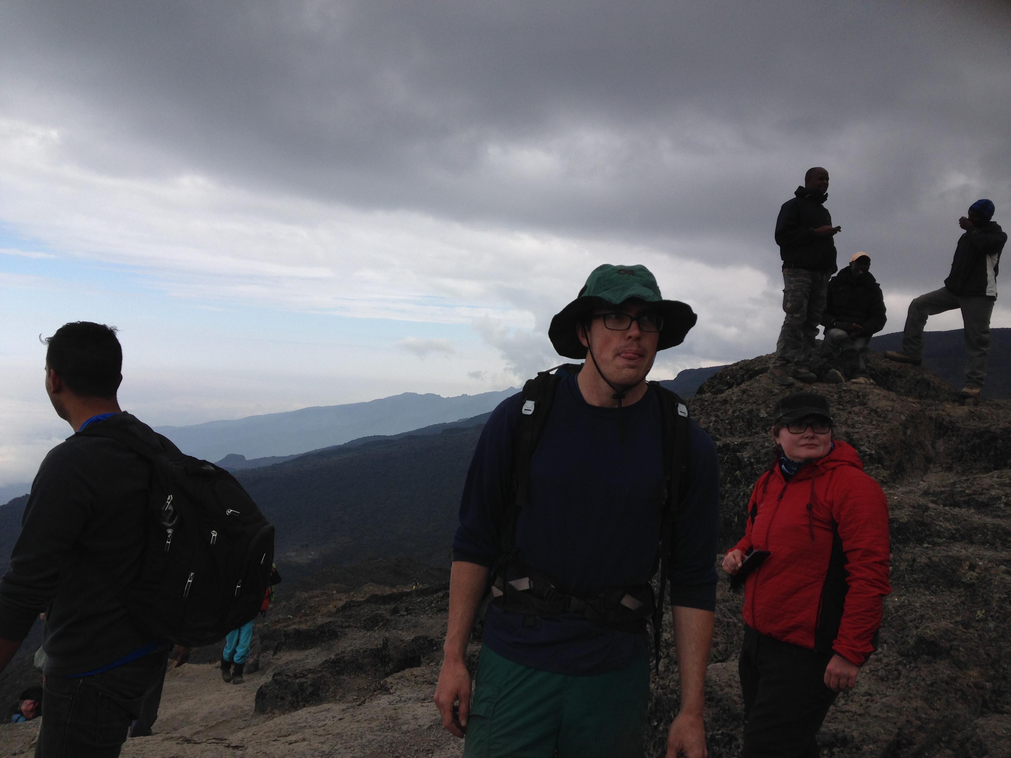 Au sommet du Baranco