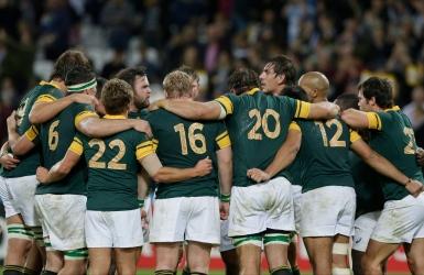 L'Afrique du Sud rafle le bronze