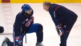 P.K. Subban et Michel Therrien