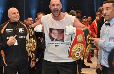 Boxe : Tyson Fury abandonne ses titres