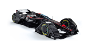 McLaren dévoile la MP4-X