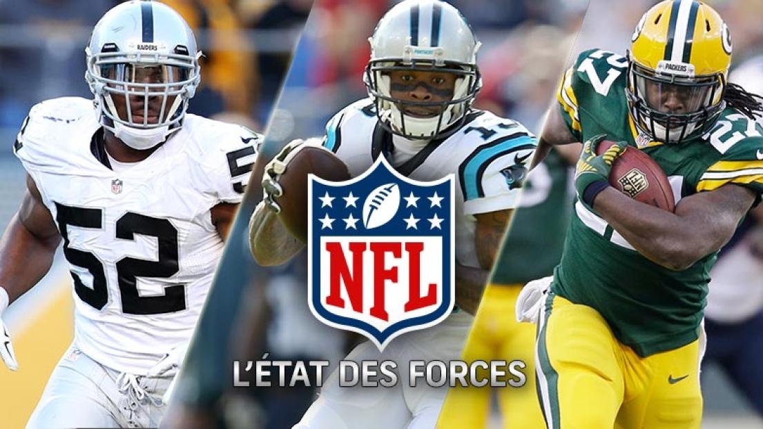 État des forces NFL - Semaine 14