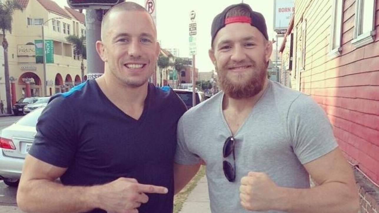 「georges st-pierre conor mcgregor」の画像検索結果