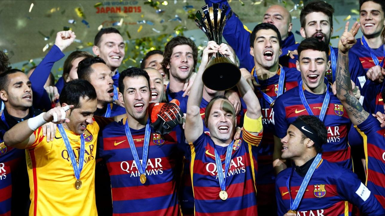 Soccer le fc barcelone remporte la coupe du monde des clubs vid o - La coupe du monde des clubs ...