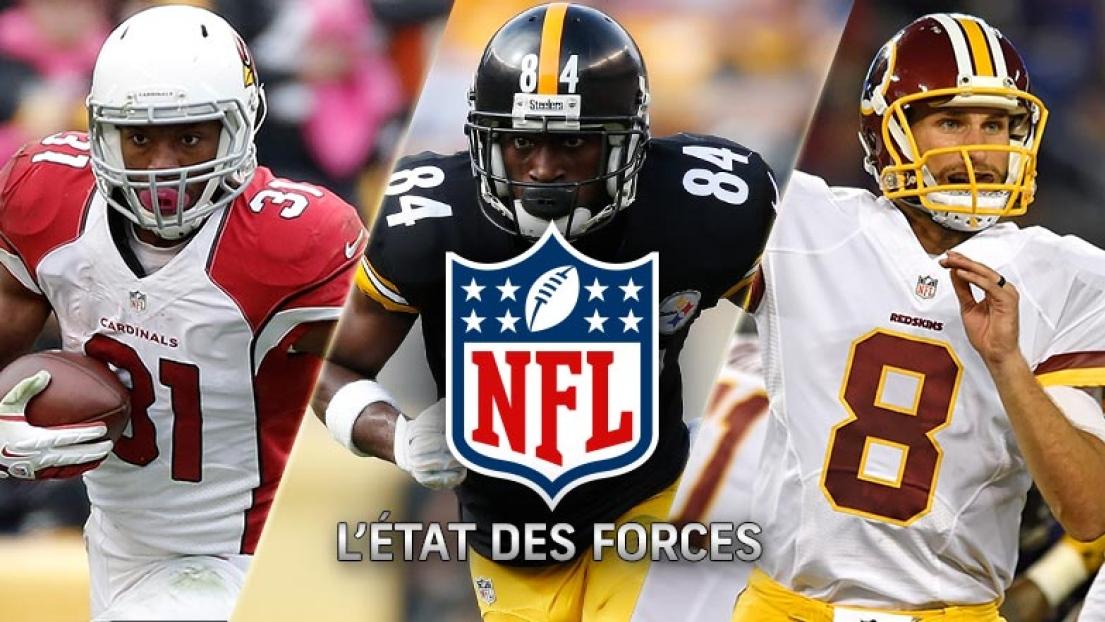 État des forces NFL - Semaine 15