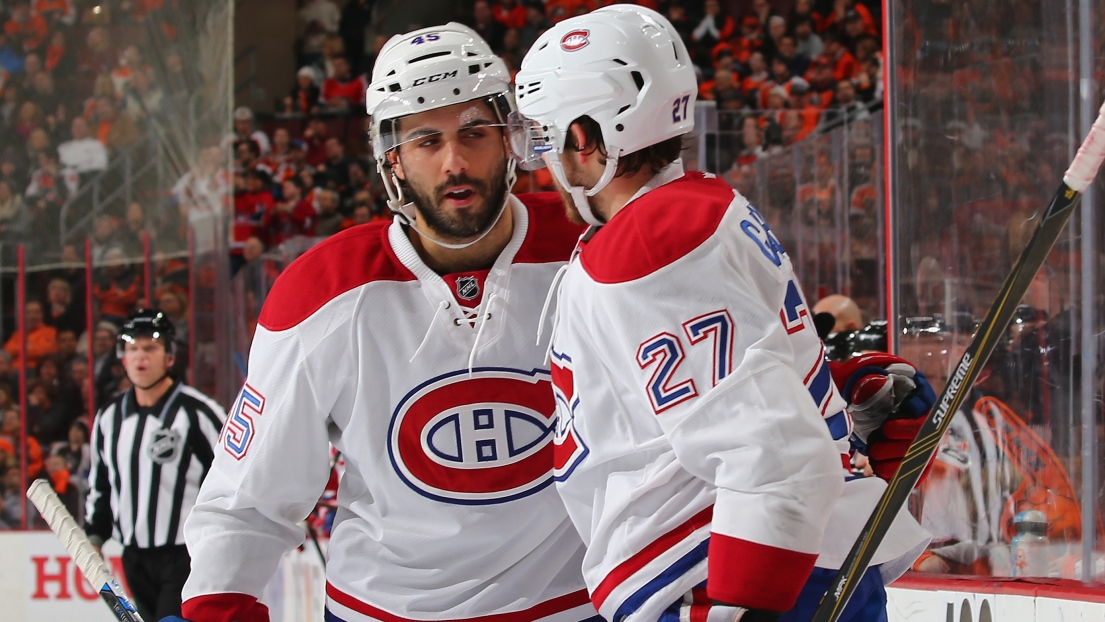 Mark Barberio et Alex Galchenyuk