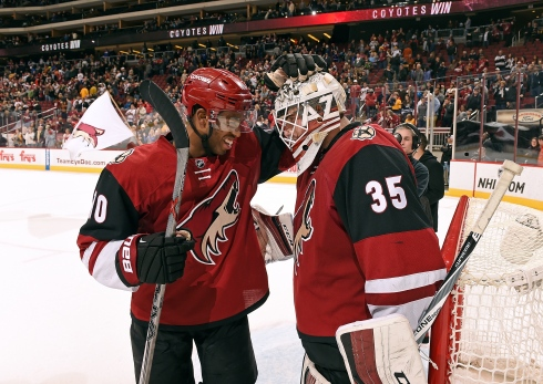Anthony Duclair et Louis Domingue