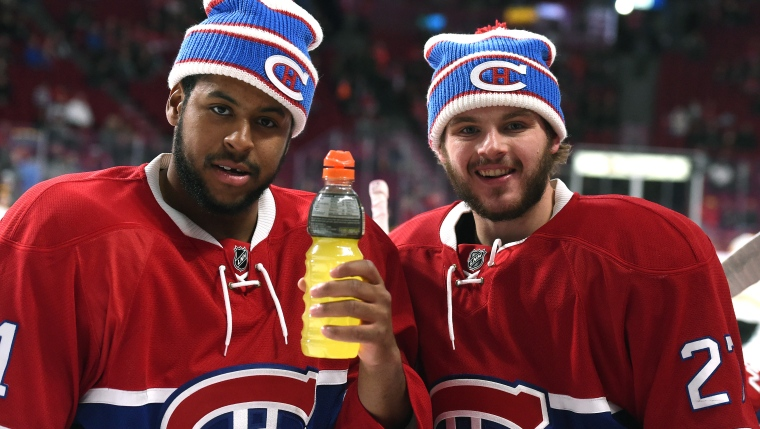 Devante Smith-Pelly et Alex Galchenyuk